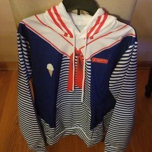 Tops - Stranger Things Scoops Ahoy Robin Hoodie